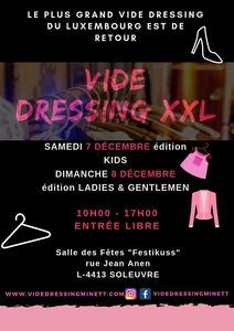 VIDE DRESSING MINETT KIDS EDITION