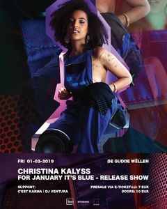 Christina Kalyss For January It's Blue - Release Show